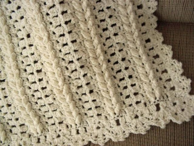 3 Pattern Collection Aran Fisherman Crochet afghan blanket INSTANT ...
