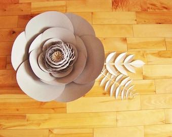 Large Paper Flower  - Paper Flower | Paper Flowers | Paper Flower Decor | Flower Wall Decor | Baby Nursery Decor | Flower Home Decor