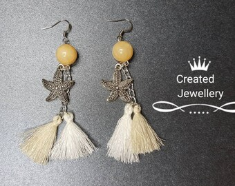 Earrings, Beach Fashion Earrings, Dangle Earrings, Tassel Earrings, Fashion Earrings, Earrings Under 15, Boho Earrings