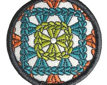 Granny Square Love Craftbadge craft merit badge