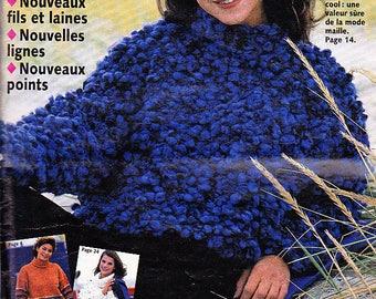 Sandra knitting woman child 138 Jan 1996
