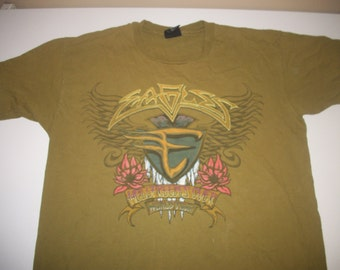 "EAGLES tour shirt 1995  ""Hell freezes over"""