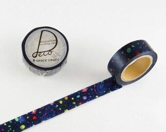Universe washi tape 15mm x 10M