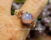 Pink Opal Vintage West Ge...