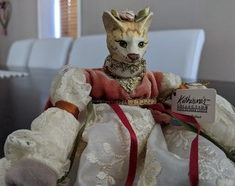 Katherine's Collection, Silver Lake Victorian cat doll