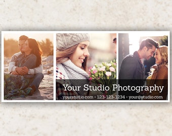 Facebook Timeline Cover Photo Template PSD - Photography Facebook Cover - *INSTANT DOWNLOAD*