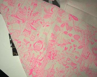 Pink Forest Bandana