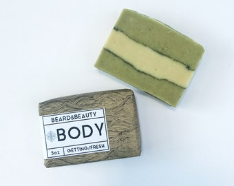 Organic Soap [Getting Fresh] Natural Mint Soap