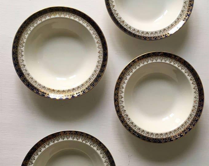 Four vintage Alfred Meakin bowls