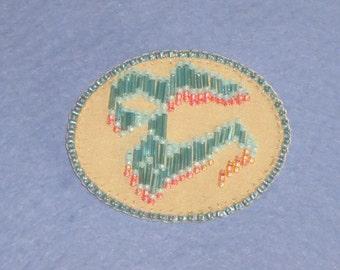 Seed bead jewelry, beaded brooch, bead embroidery, hand made jewelry, seed bead pins, beaded jewelry, hand made pins