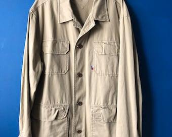 Tommy workwear jacket large