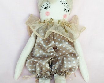 Handmade Gifts for Women - Ragdoll - Nursery Decor Girls - Soft Doll - Gift for Her - Collectible Doll