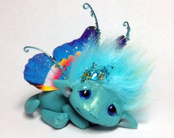 "OOAK Dream Butterfly Faerie Trollfling Troll Dragon ""Callie"" by Amber Matthies"