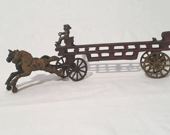 Getty Up w/ An Early Hubley Cast Iron Toy