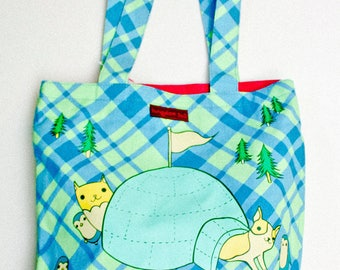 Travel gift - pastel tote bag - teen girl gift ideas, vaporwave, pastel teen girl bag, plaid tote bag, travel tote bag, gift for traveler