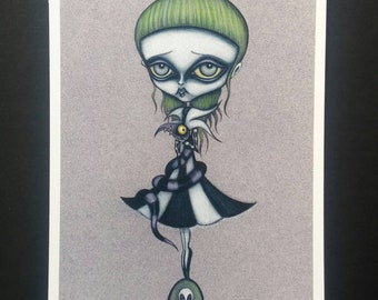 Never Trust the Living - Limited edition Fine art giclee print