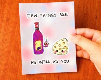 Funny Birthday card funny, Cute birthday card funny, Sweet birthday card for boyfriend, Adult birthday card for him, Punny card best friend