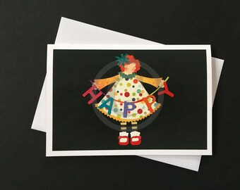 Birthday Card-Happy