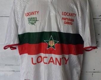 Rare jersey Locanty Portuguesa Carioca by Prantic