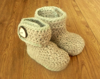 Crochet PATTERN Baby Boots Booties Shoes Cosy Country Boots - INSTANT DIGITAL Download