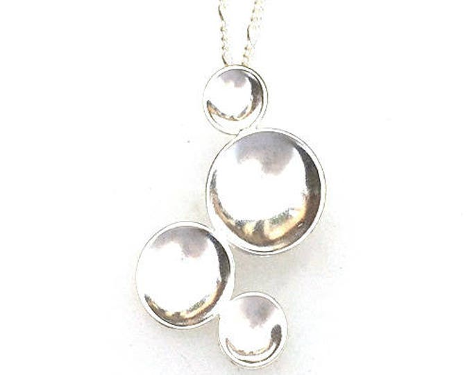 Contemporary 'Bubbles' Pendant