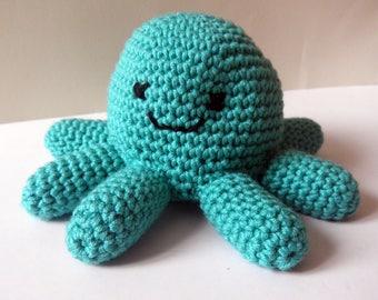 Octopus - toy - blanket - crochet