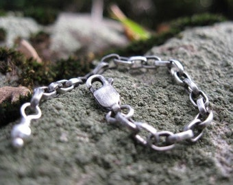 chain extender in sterling silver . two, four or six inches . heavy duty chain with large links . necklace extender . READY TO SHIP