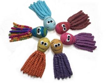 Crochet octopus Preemie octopus Baby octopus,Custom baby gifts crochet toy Jellyfish crochet crochet baby