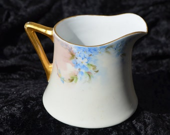 Antique Austrian China Creamer