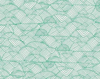 Valley of Evergreen from Art Gallery Fabric's Meadow Collection