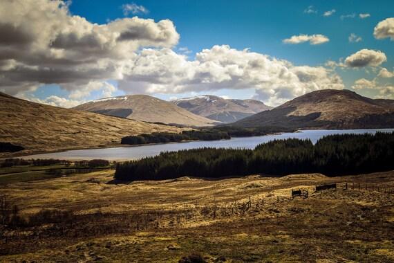 Landscape, Scottish Highlands, Glencoe region, Wall Art, Wall Decor, Scotland in print, Glencoe Print, Scottish Wall Deco Home Wall Art