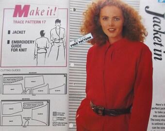 MAKE IT - woman art jacket sewing pattern 17