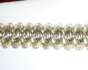 "Vintage Signed Pegasus Coro Bracelet1960's Nice Size 7"""