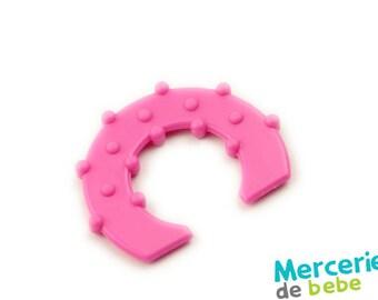 Rose - shape semicircle - C32 - R1 decorative element