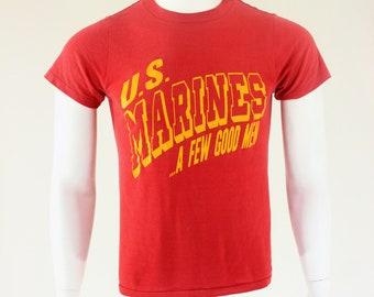 80's U.S. Marines A Few Good Men T-Shirt M