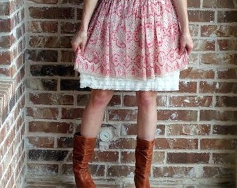 SALE Dress Extender Slip Tiered Ruffle Available in cream, black, white and brown.