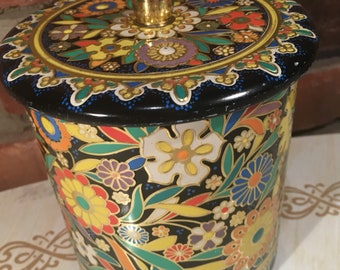 Holland Flower Tin - FREE SHIPPING