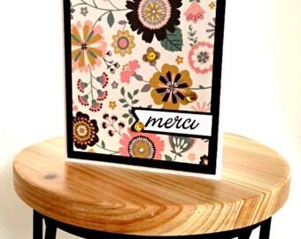 Merci / Thank You Greeting Card