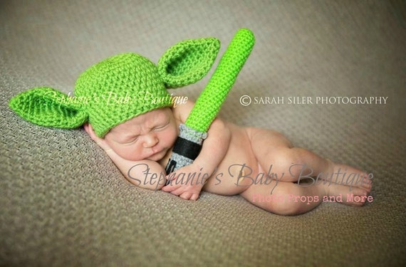 How To Knit A Baby Yoda Hat 70