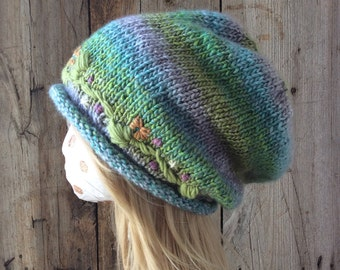 Fairy Crown Slouchy Woman's Hat