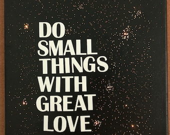 Inspirational Lighted Canvas Painting