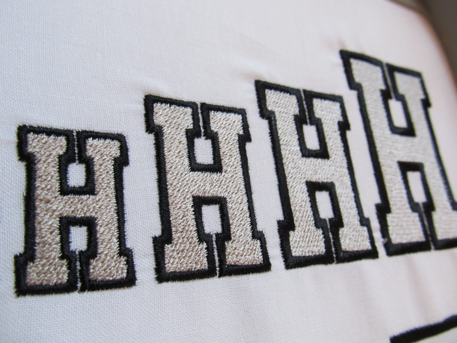 Varsity Collegiate Collegiate Block Type Font Machine Embroidery
