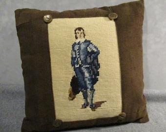 The Blue Boy Pillow