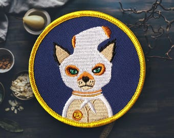 """The Little Fox In the Hen House Patch 