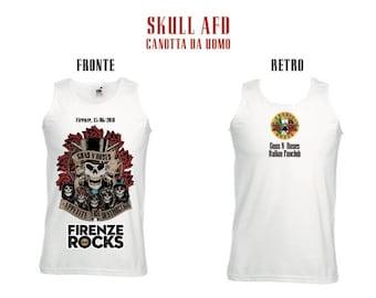 Guns n ' Roses: Skull AFD-Florence 15-6-2018 Gnr Italian Fan Club Sd & GNR