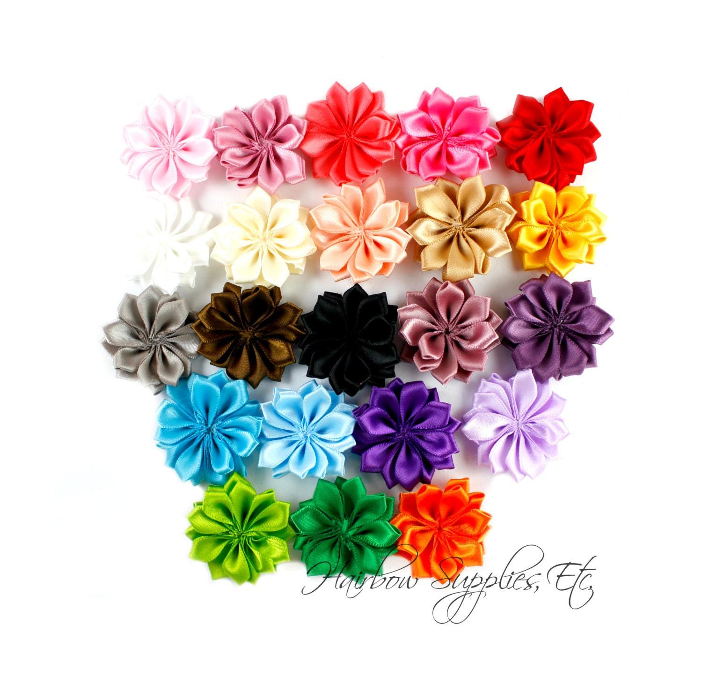 Dainty Star Flowers 1 12 Inch Fabric Flowers Silk Flowers Hair