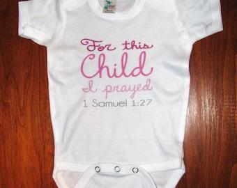Cute Baby clothes, Adoption bodysuit, Religious baby gift, Christian baby gift, Unique baby bodysuit, Kids clothing