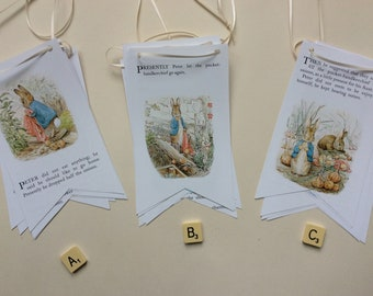 Peter Rabbit and Friends Book Bunting