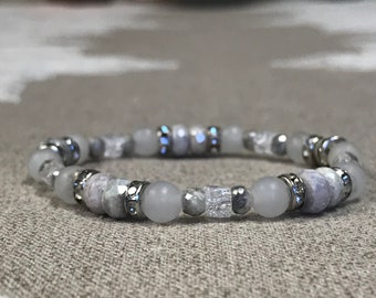 Silverite Sapphire or Mystic Sapphire Vibrates with the Frequency of Manifestation