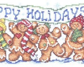 Imaginating Happy Gingers Cross Stitch Pattern